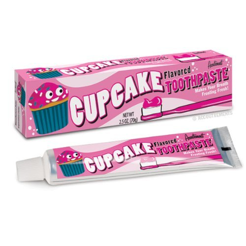 cupcake flavoured toothpaste kids