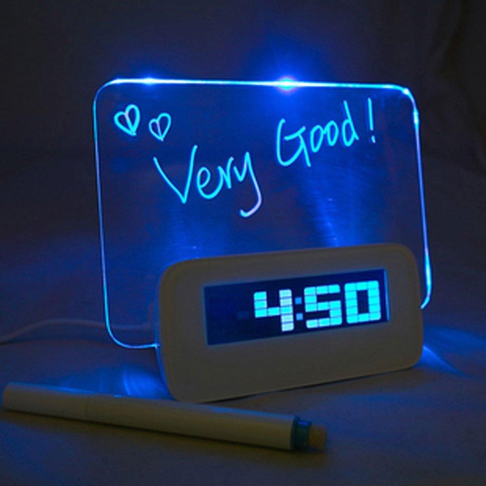 message board alarm clock