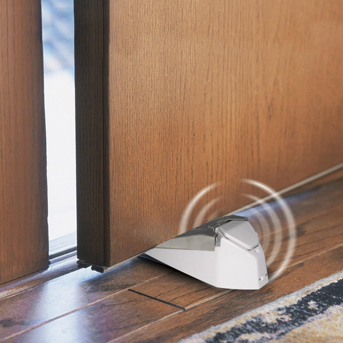 security door stop alarm ge