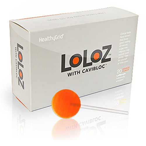 anti cavity lollipops