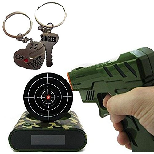 target practice alarm clock shoot and wake