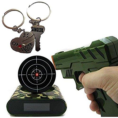 target practice alarm clock shoot and wake