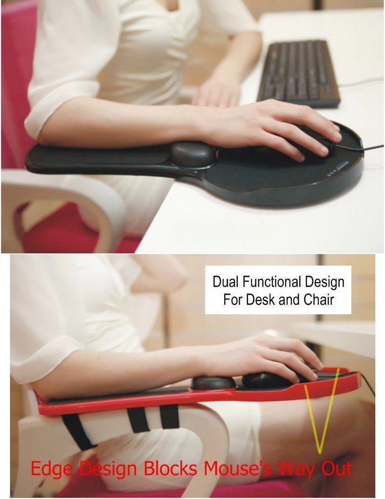 adjustable arm rest