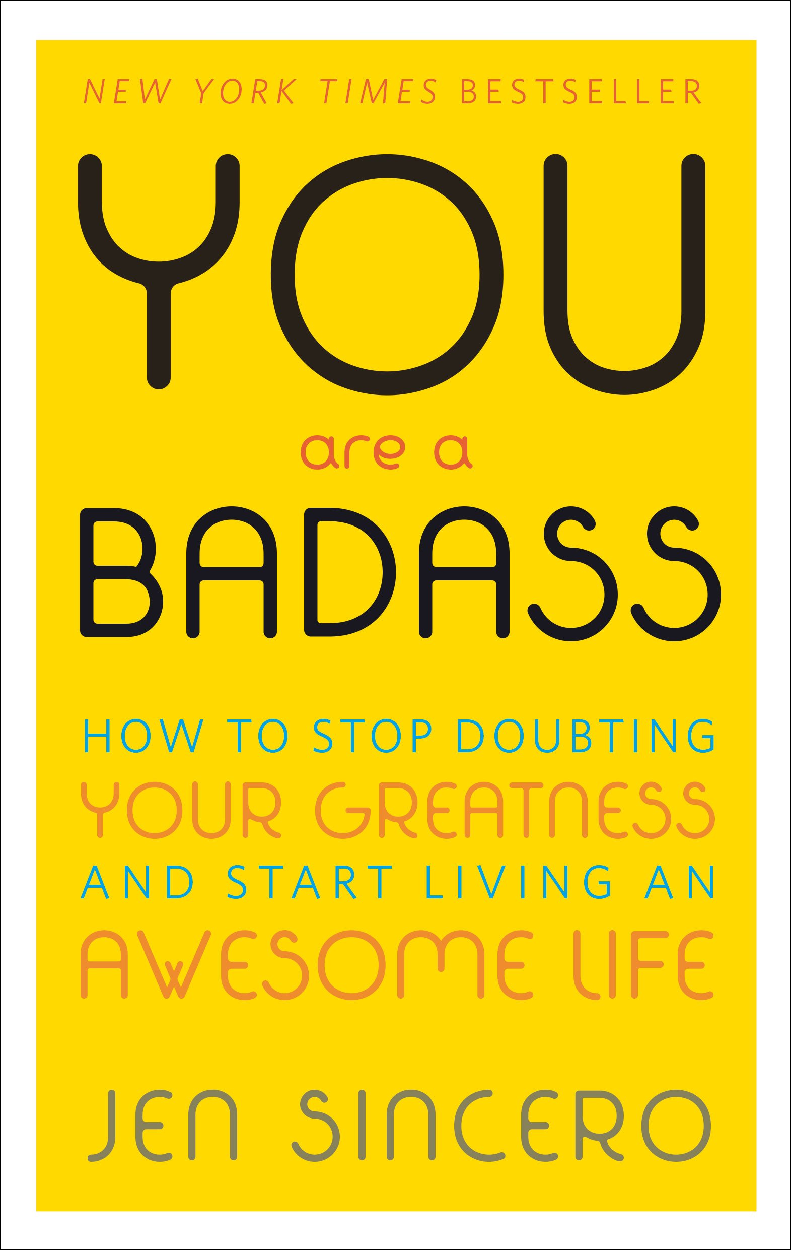 you are a badass motivational books self help