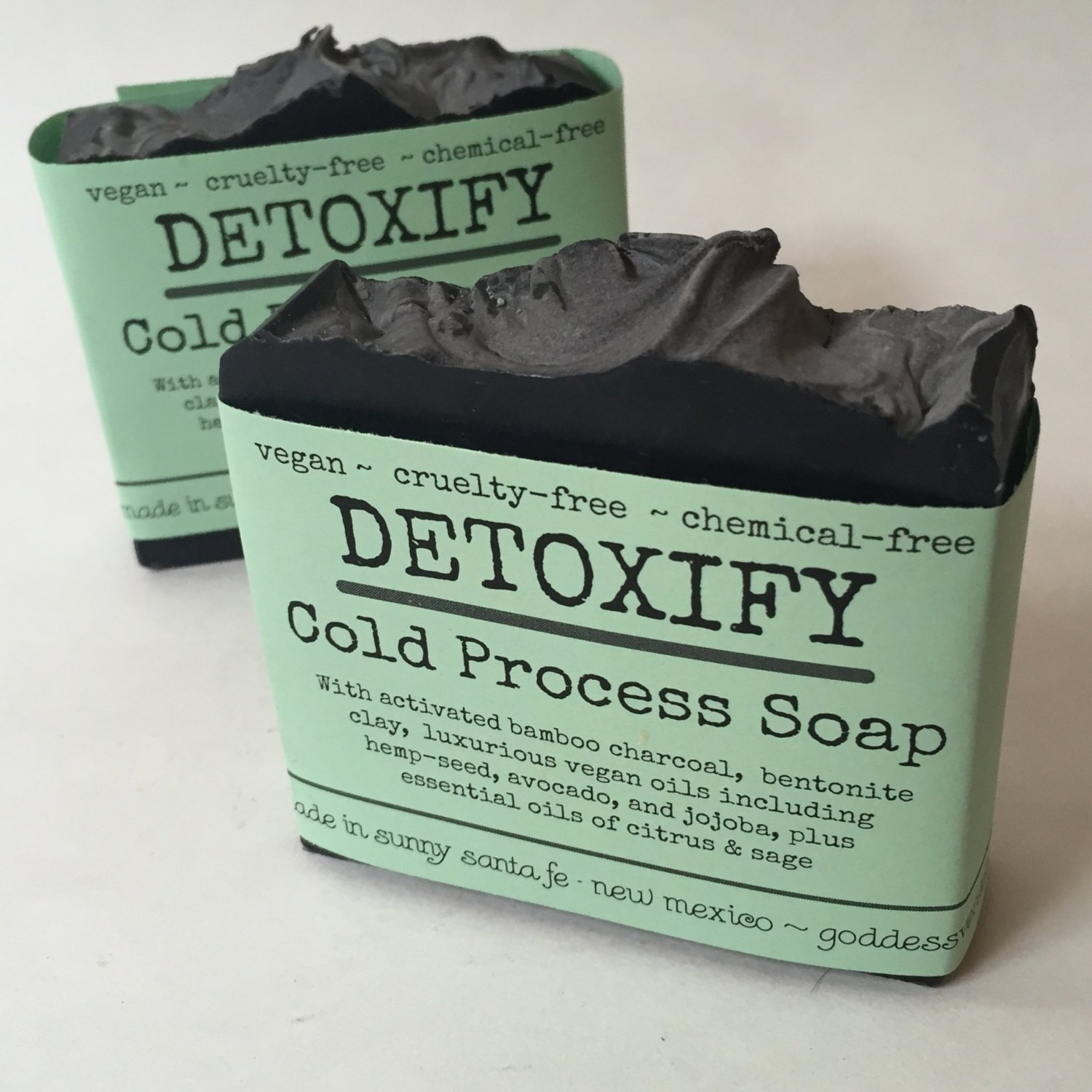 detoxicating charcoal soap activated