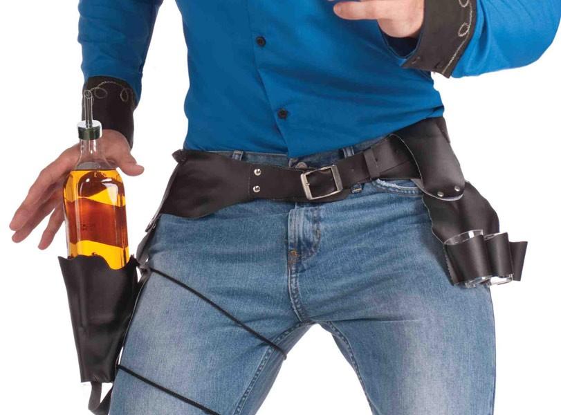 cowboy drink holster slinger