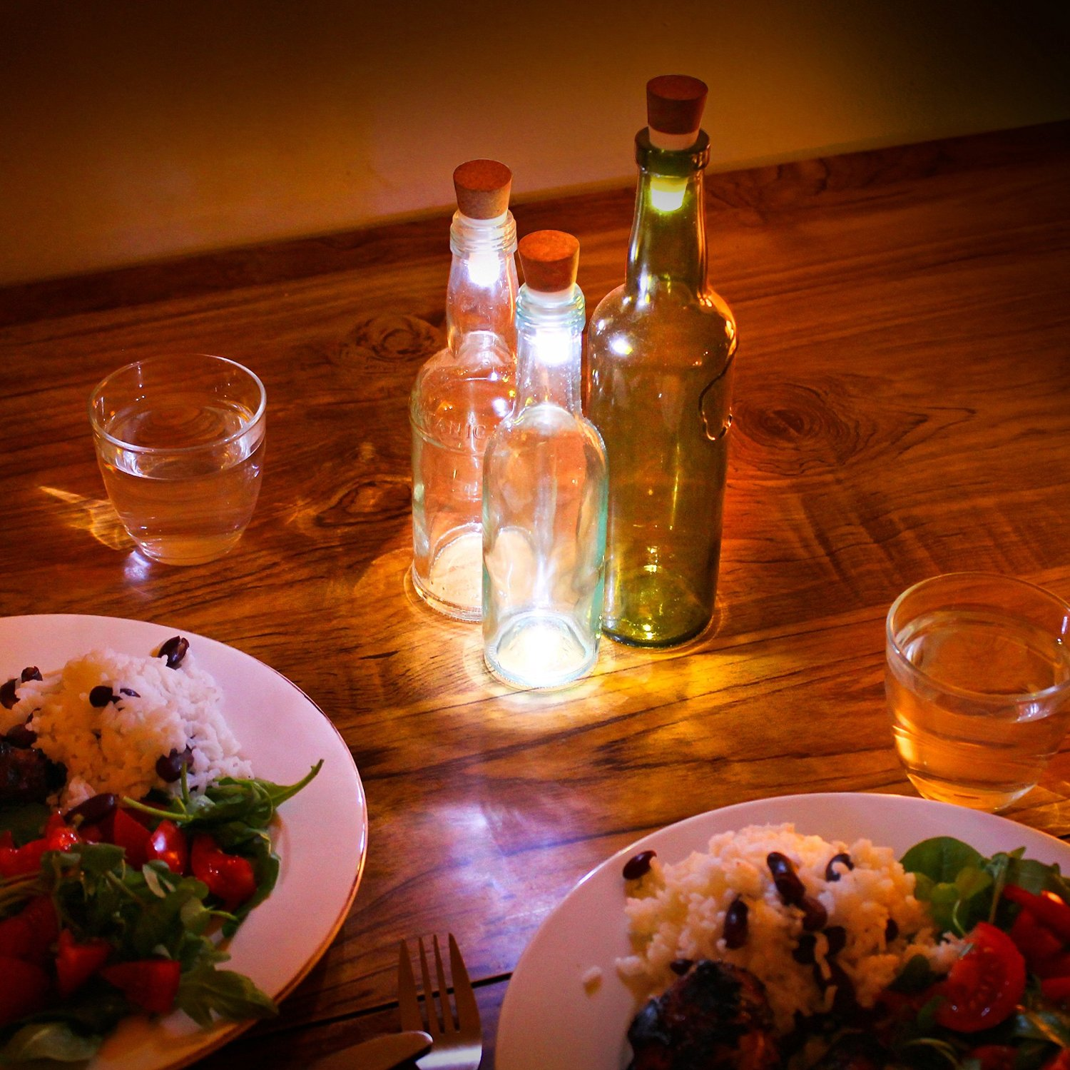 rechargeable bottle lights lamp