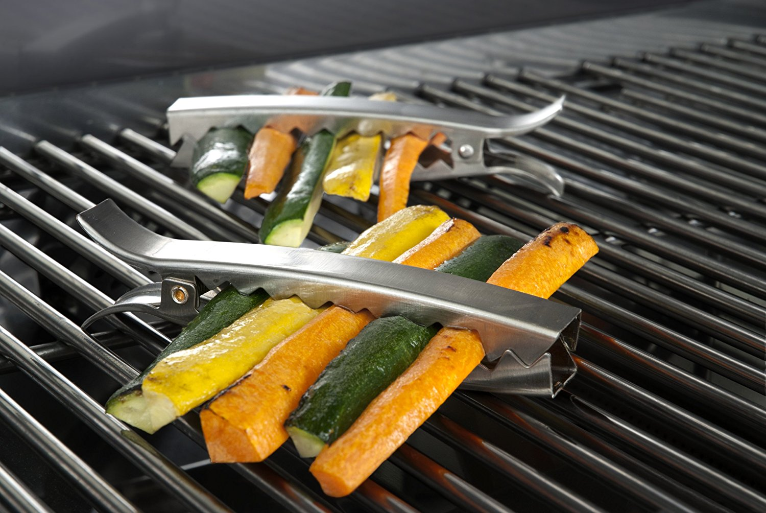 Charcoal Grill Clips
