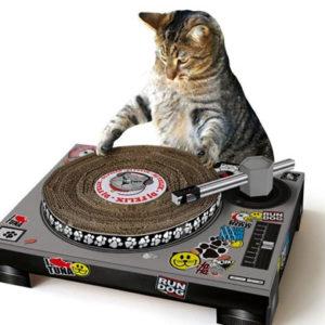 Cat Scratch Turntable