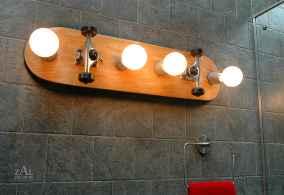 bathroom-skateboard-vanity-light