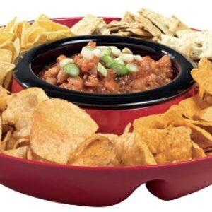 Heated Chip n Dip Tray