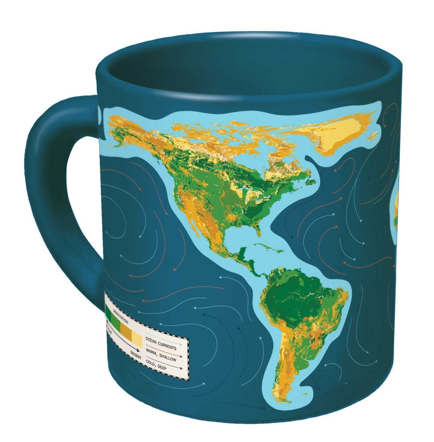 global warming reminder mug
