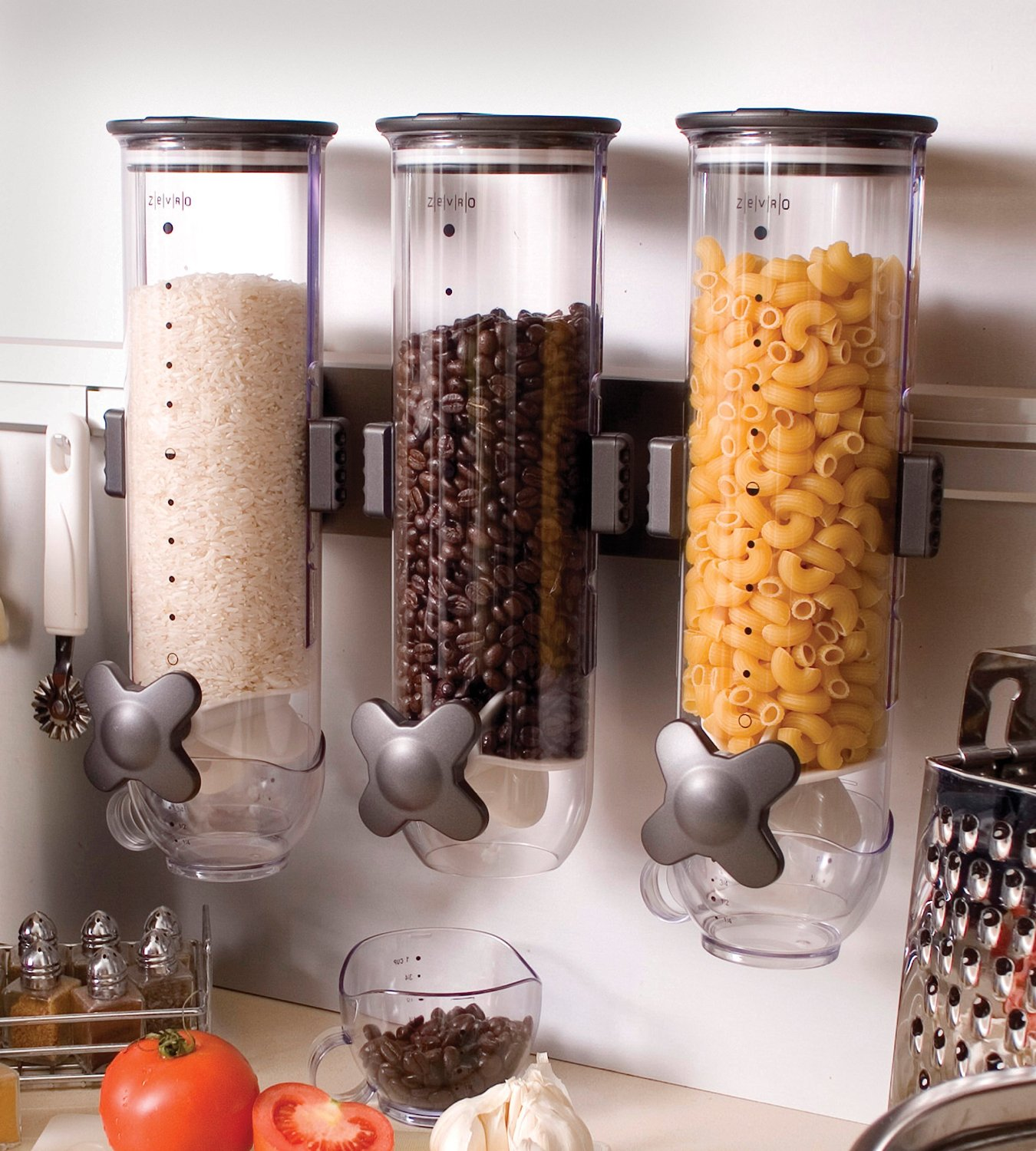 triple dry food dispenser