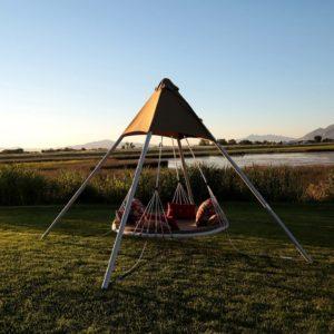 Luxury Garden Swing Bed