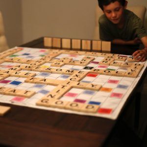 Giant Wooden Scrabble