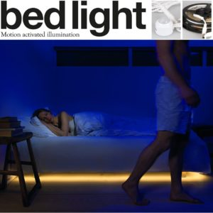 Motion Activated Bed Lighting