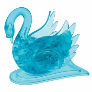 Swan Crystal Puzzle 3D